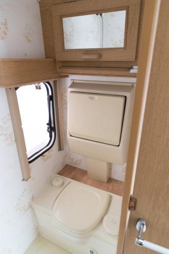 Wohnwagen Toiletten